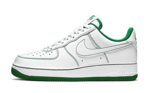 Nike Air Force 1 Low White Pine Green White Running Shoes CV1724-103