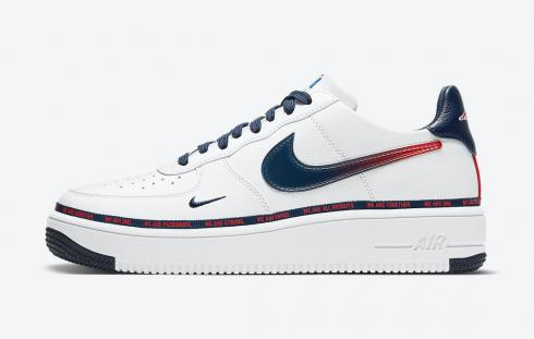 Nike Air Force 1 UltraForce New England Patriots White University Red DB6316-100