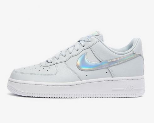 Nike Wmns Air Force 1'07 Essential Irredescent Swoosh Aura White CJ1646-400