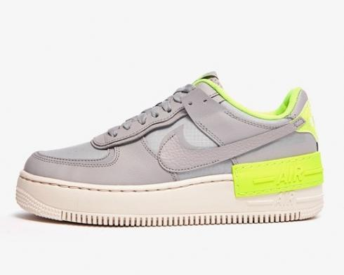 Nike Wmns Air Force 1 Shadow Atmosphere Grey Green CQ3317-002