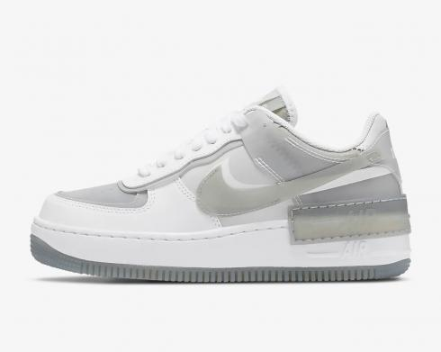 Nike Wmns Air Force 1 Shadow Particle Grey White CK6561-100