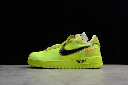 Men's Off White x Nike Air Force 1 Low Volt AO4606 700