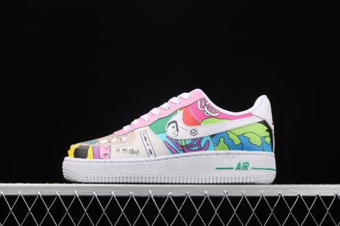 Ruohan Wang x Nike Air Force 1 Low Multi Color CZ3990-900