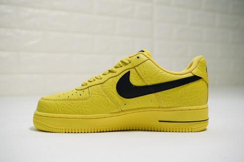 Supreme X The North Face X Nike Air Force 1 Low Yellow Black Ar3066 400 Februn