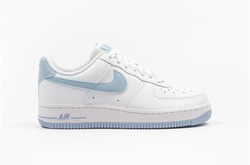 Wmns Nike Air Force 1 Low Blue White Shoes AH0287-210