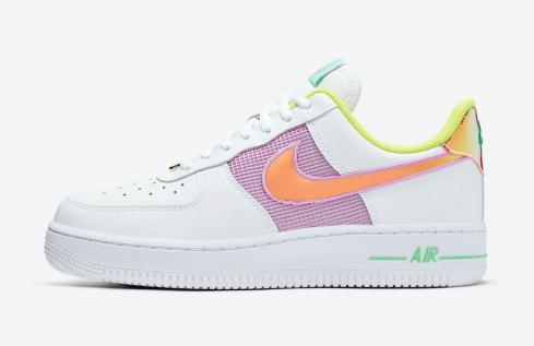 Wmns Nike Air Force 1 Low Easter White Multi Color CW5592-100