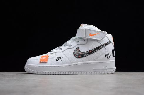 Nike Air Force 1 Mid Just Do It White