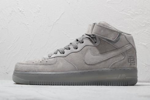 Nike Air Force 1 Mid x Reigning Champ Grey Shoes GB1119-198