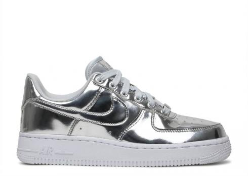 Nike Wmns Air Force 1 Sp Chrome White Silver CQ6566-001