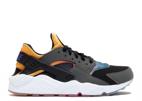 Nike Huarache Run Sd Rainbow Pink Pow Yellow Volt Black True 724764-005