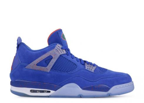 Air Jordan 4 Florida Gators Pe Blue AJ4-904283