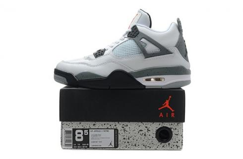 NIKE AIR JORDAN RETRO 4 IV White Cement 308497 103
