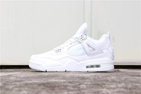 best sale amazing selection exclusive deals Nike Air Jordan 4 Retro Pure Money White 308497-100 - FebRun