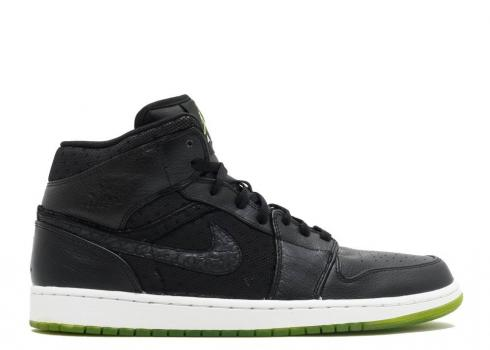 Air Jordan 1 Phat Action Green White Black Reen 364770-007