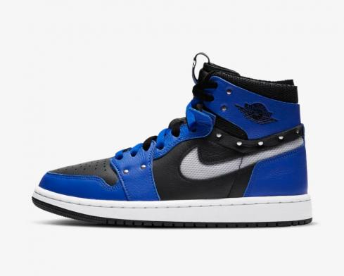 Wmns Air Jordan 1 Zoom Comfort SE Sisterhood Hyper Royal Black White CZ1360-401
