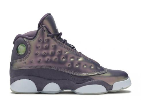 Air Jordan 13 Retro Premium Hc Gs Dark Raisin Hydrogen Blue AA1236-520