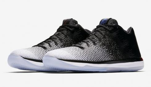 Air Jordan 31 Low Quai 54 White Black University Red 921195-154