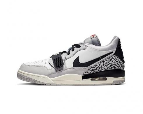 Air Jordan Legacy 312 Low Summit White Fire Red Tech Grey Black CD7069-101