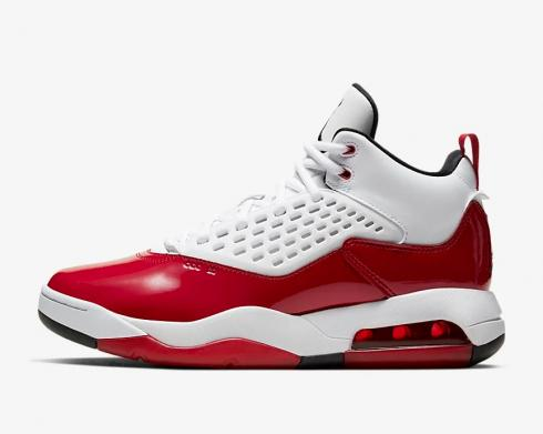 Air Jordan Maxin 200 White Gym Red Black CD6107-106