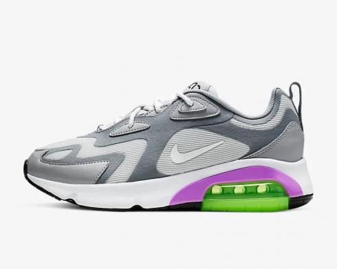 Wmns Nike Air Max 200 Pure Platinum Volt White Wolf Grey AT6175-002