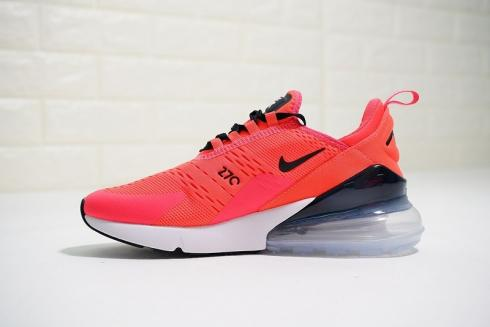 Nike Air Max 270 Id Hyper Pink Black White Running Shoes Bq0742 996 Februn