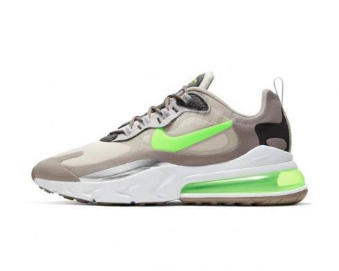 Nike Air Max 270 React Moon Particle Electro Green Brown CQ4598-231