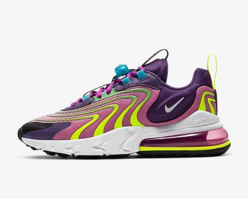 Nike Wmns Air Max 270 React ENG Magic Flamingo White CK2595-500