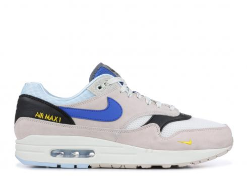Nike Air Max 1 Desert Sand Royal Blue Cobalt Tint Sail AV5188 001