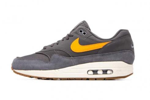 Nike Air Max 1 Thunder Grey Total Orange AH8145-010