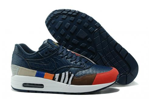 Nike Air Max 1 Master 30th Anniversary Shoes Lifestyle Men Deep Blue Red White