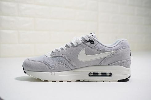 Nike Air Max 1 Premium Mini Swoosh Pure Platinum 875844 006
