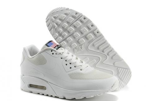 cerrar col china cargando  Nike Air Max 90 Hyperfuse QS Sport USA White July 4TH Independence Day  613841-110 - FebRun