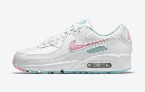 Nike Air Max 90 Easter Pink White Blue Running Shoes DJ1493-100