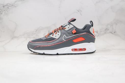 Nike Air Max 90 SE2 Worldwide Wolf Grey Orange White CV7665-084
