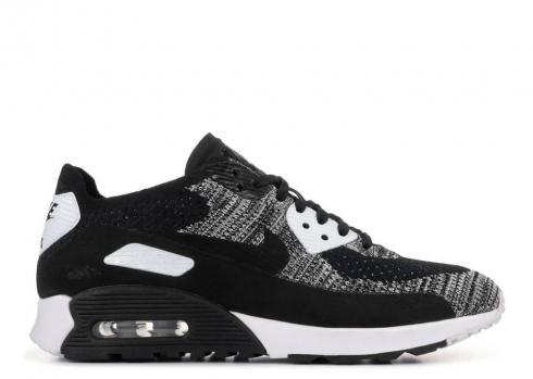 Nike W Air Max 90 Ultra 2.0 Flyknit Black White Anthracite 881109-002