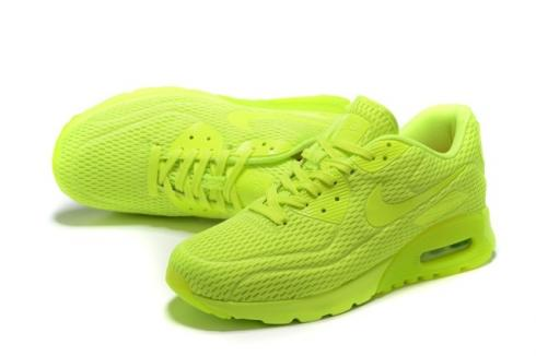 Nike Air Max 90 Ultra BR Volt Neon Volt Lime Running Sneakers Shoes 725222 700