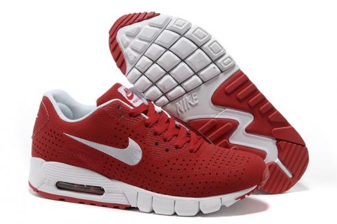 Nike Air Max 90 Current Moire Light Grey Cherry Red 344081 015