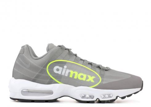 Nike Air Max 95 Ns Gpx Big Logo Dust Volt White Dark Pewter AJ7183-001