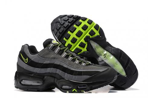 Nike Air Max 95 Pure Black Cool Grey Men Running Shoes Sneakers Trainers 749766 017