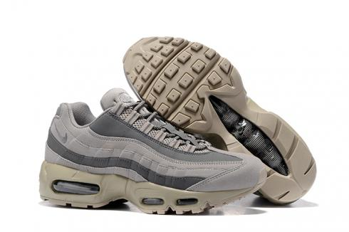 Nike Air Max 95 Wolf Grey Men Running Shoes Sneakers Trainers 749766 200