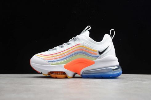 Nike Air Max Zoom 950 White Multi Color Running Shoes CJ6700-200