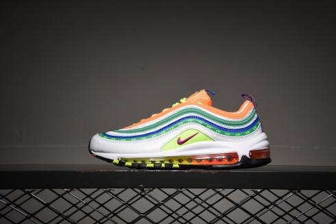 Nike Air Max 97 Have A NK Day White Green Orange Multi-Color CL1504-100