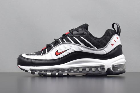Nike Air Max 98 White Red Blue | Nike air max, Mens nike