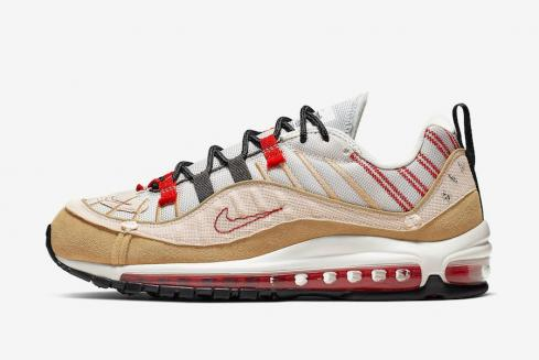 Nike Air Max 98 SE Inside Out Desert Sand University Red AO9380-003