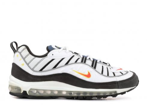 air max 98 black and orange