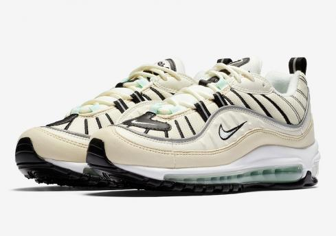 Nike WMNS Air Max 98 Igloo Sail Igloo Fossil Reflective Silver AH6799 105