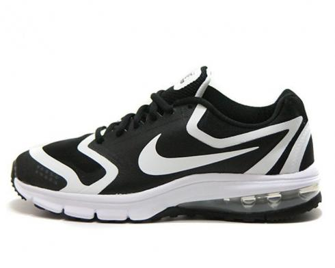 Nike Air Max Premium Run Black White Womens Running Shoes 707391-001