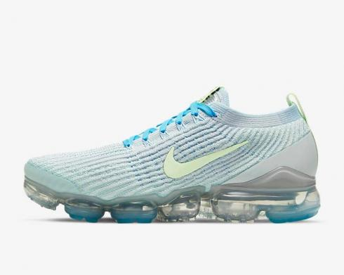 Nike Wmns Air VaporMax Flyknit 3 Baltic Blue Barely Volt DC2051-001