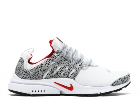 Nike Air Presto Qs White Safari University Black Red 886043-100