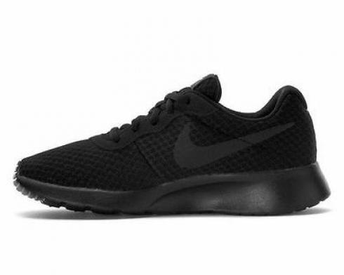 Nike Roshe Run Tanjun Black Womens Running Shoes 812655-002